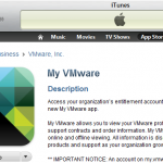 My VMware iPhone App