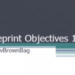 vBrownBag - VCAP5-DCA Blueprint Objective 1.2 and 1.3