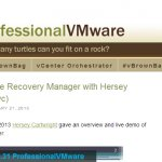 vBrownBag VMware Site Recovery Manager (SRM) Demo