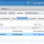 Manually Adding a User With the Administrator Role to the vCenter VPX_ACCESS Table