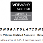 VMware Certified Associate – Data Center Virtualization (VCA-DCV)