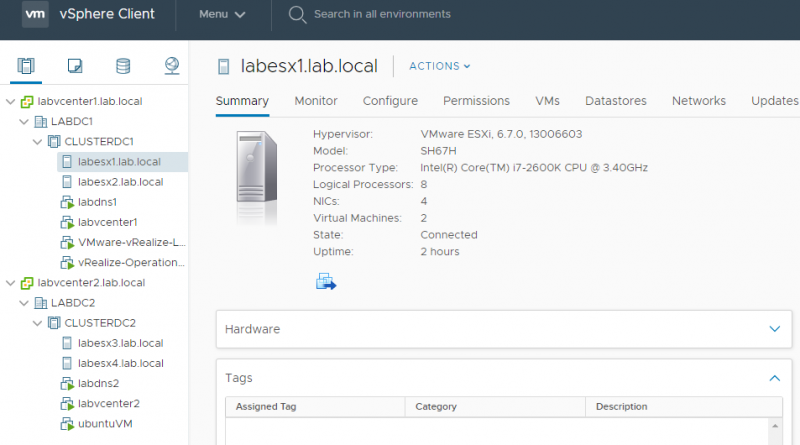 Freshening Up the Home Lab… – vHersey – VCDX Two to the