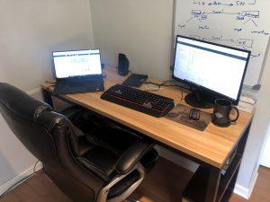 New Office Desk Setup